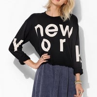Truly Madly Deeply New York Long-Sleeve Tee - Urban Outfitters