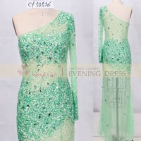 CY50536 mint crystal stone evening dress 2015, View Evening Dress, Chaozhou Choiyes Evening Dress Product Details from Chaozhou Choiyes Evening Dress Co., Ltd. on Alibaba.com