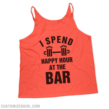 Happy Hour Funny Workout Gear