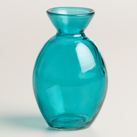 Lagoon Glass Bud Vase, Set of 6