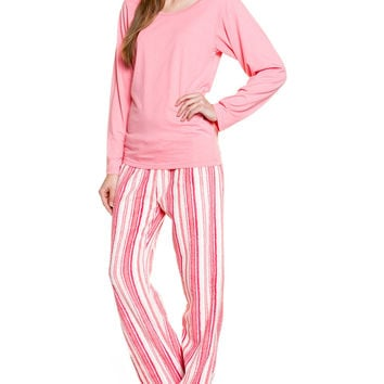 Candy Stripe Pajama Set