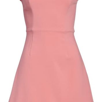 French Connection Whisper Convertible Strap Dress | Nordstrom