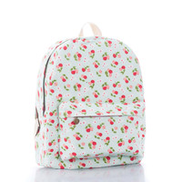 Lovely Canvas Cute Backpack = 4887464452