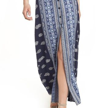 Band of Gypsies Bandana Print Skirt | Nordstrom