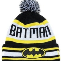 Superhero Batman Knitted Beanie