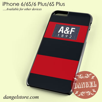 red abercrombie and fitch Phone case for iPhone 6/6s/6 Plus/6S plus
