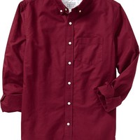 Men's Slim-Fit Oxford Shirts