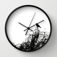 Black Bird Wall Clock by SYoung.photography