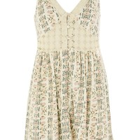 Topshop Sundre Crochet Trim Dress | Nordstrom