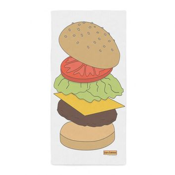 Bob's Burger Beach Towel