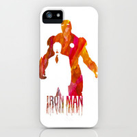 Iron Man iPhone & iPod Case by Jon Hernandez