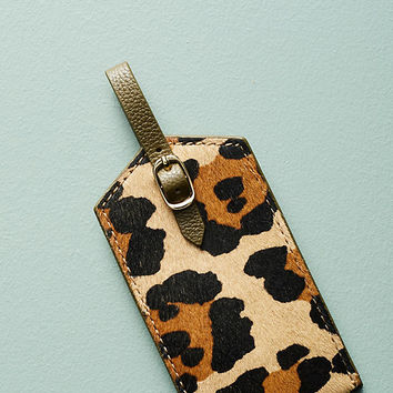Wild Wanderlust Luggage Tag