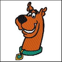 Scooby Doo Embroidery Design