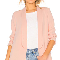 House of Harlow 1960 x REVOLVE Chloe Boyfriend Jacket in Light Pink