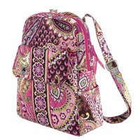 Vera Bradley Backpack in Very Berry Paisley