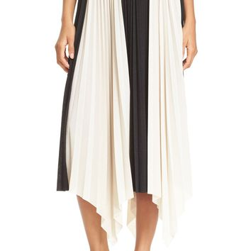 Tracy Reese Pleated Handkerchief Skirt | Nordstrom