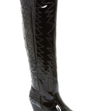 'Bit Sky' Tall Wedge Western Boot (Women)