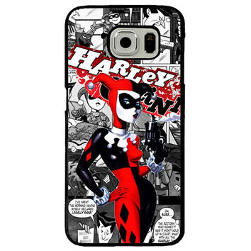 Harley Quinn TPU+PC Case For Samsung Galaxy S7