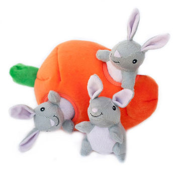 Bunny n' Carrot Burrow Toy