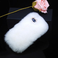 Warm Luxury Fur iPhone Cases Samsung galaxy note 2 /galaxy s3 iPhone 4 Case iPhone 5 Case iPhone 4s Case iPhone 3G case