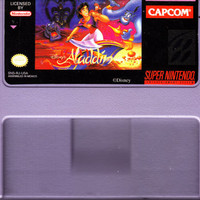 Aladdin Super Nintendo SNES - Tested and Working - Video Game