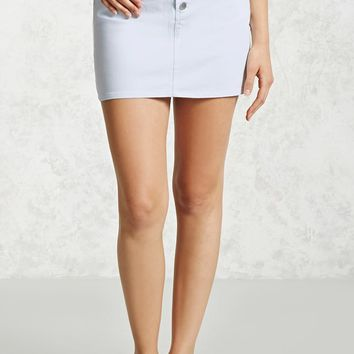 Partial Button-Down Skirt