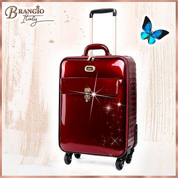 Euro Moda Underseat Travel Luggage American Tourister with Spinners