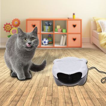USB Charging Automatic Circulation Pet Drinking Fountains Dog Cat Water Dispenser Water Bowl Electric Fountain Water Feeder