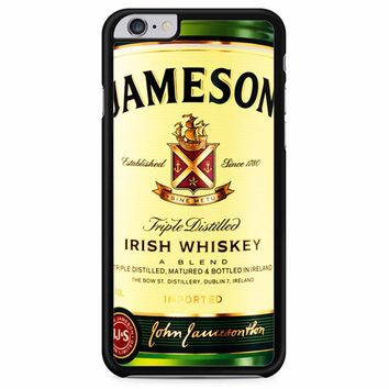Jameson Wine Irish Whiskey iPhone 6 Plus/ 6S Plus Case