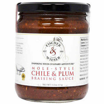 Chile & Plum Braising Sauce by Fischer & Wieser 14.5 oz