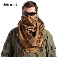 Men Winter Military Windproof Scarf Muslim Hijab Shemagh Tactical