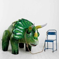 Oversized Inflatable Triceratops- Dark Green One