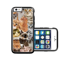 RCGrafix Brand The Cat Collage Cats iPhone 6 Case - Fits NEW Apple iPhone 6