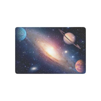 Autumn Fall welcome door mat doormat Astrology Astronomy Saturn Outer Space Anti-slip  Home Decor AT_76_7