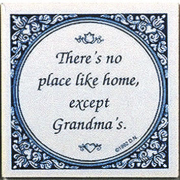 Magnetic Tiles Quotes: No Place Like Grandma's