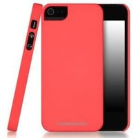iPhone 5 \ 5s Case, CaseCrown Cali Snap On Case (Coral Surf)