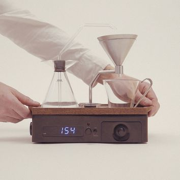 The Barisieur: Designer Coffee & Tea Alarm Clock
