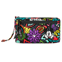 Mickey's Magical Blooms Wristlet by Vera Bradley | Disney Store