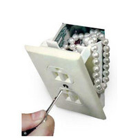 Hidden Wall Safe Fake Electrical Outlet Stash your Cash, Jewelry Valuables
