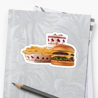 'in-n-out aesthetic' Sticker by cheyannekailey