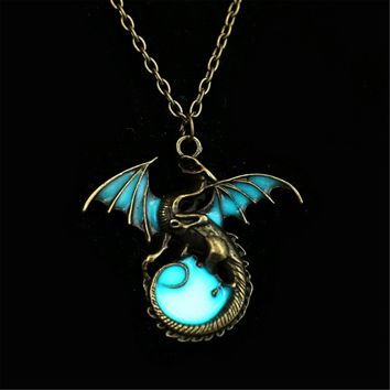 """Free Shipping"" Game of Throne Luminous Dragon Pendants & Necklaces"