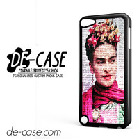 Frida Kahlo On Newspaper DEAL-4420 Apple Phonecase Cover For Ipod Touch 5