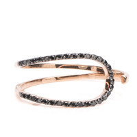 Kismet by Milka Black Diamond Spectrum Ring