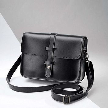 Xiniu Women Shoulder bag Vintage Purse Bag Leather Cross Body Shoulder Messenger Bag