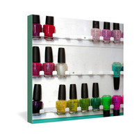 DENY Designs Home Accessories | Bird Wanna Whistle Nail Polish Gallery Wrapped Canvas