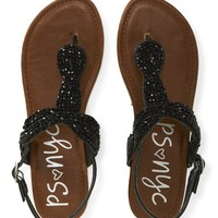 Kids' PSNYC Beaded Knot Sandals - PS From Aeropostale