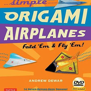 Simple Origami Airplanes BOX BKLT/D