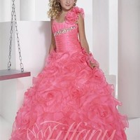Tiffany Princess 13343 | Little Girl's Pageant Dress | Little Girl's Party Dress | GownGarden.com