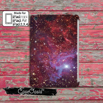 Galaxy Purple Stars Space Cute Tumblr Cool Custom iPad Mini, iPad 2/3/4 and iPad Air Case Cover