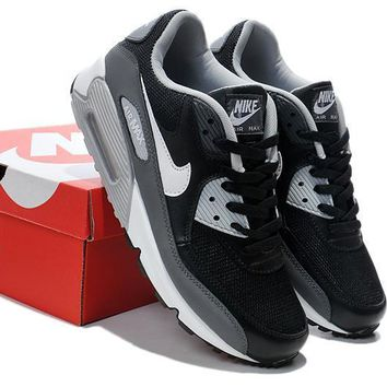 Nike Air Max 90 Unisex Sport Casual Multicolor Air Cushion Sneakers Couple Running Shoes-1